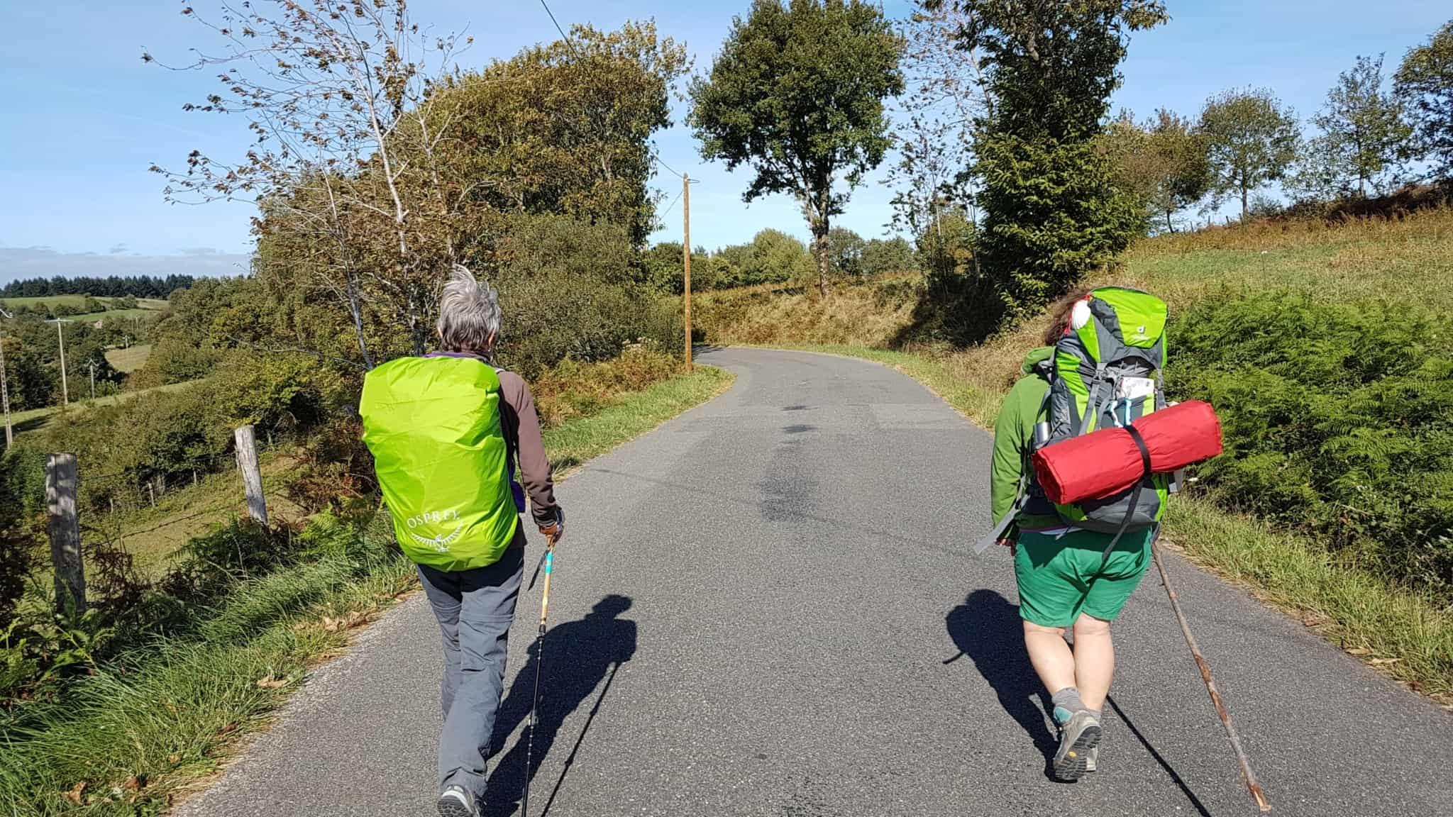 Chemin de Compostelle, nous arrivons à Conques après 204 km parcourus 😁 7