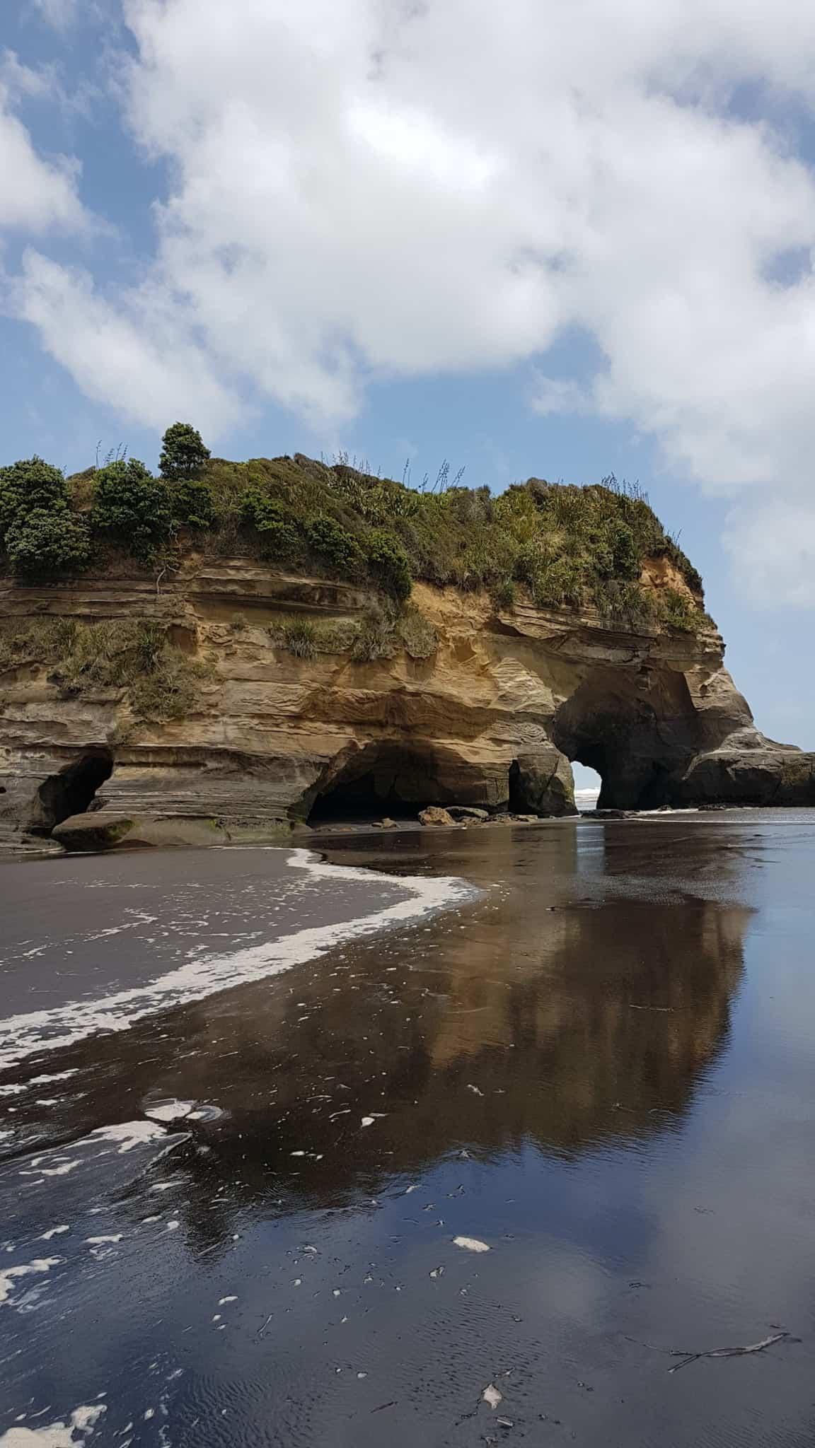 Nouvelle-Zélande, les Three Sisters et l'Elephant Rock plantés au beau milieu de la mer 🐘 11