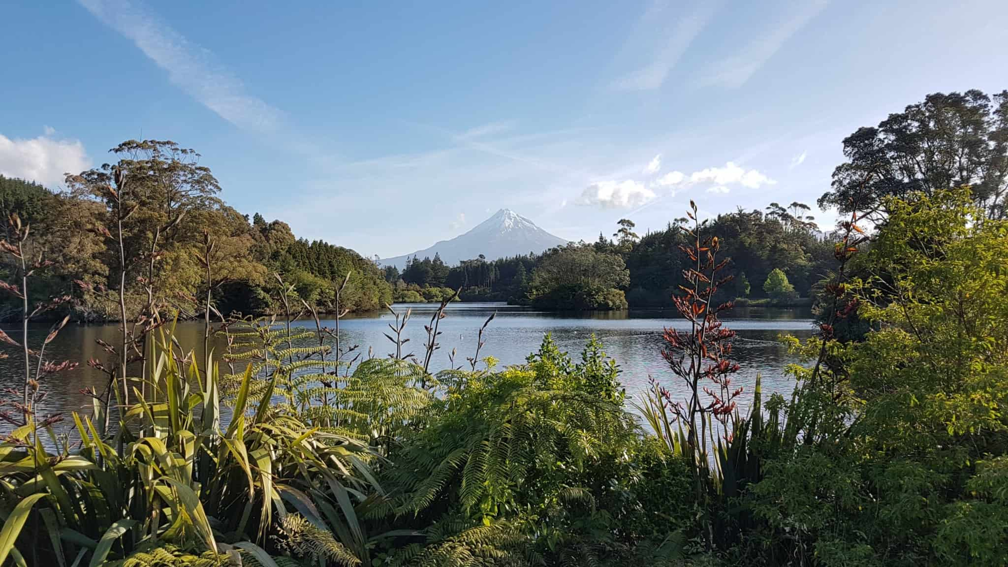 Nouvelle-zelande, le lac Mangamahoe une petite merveille 🤩 11