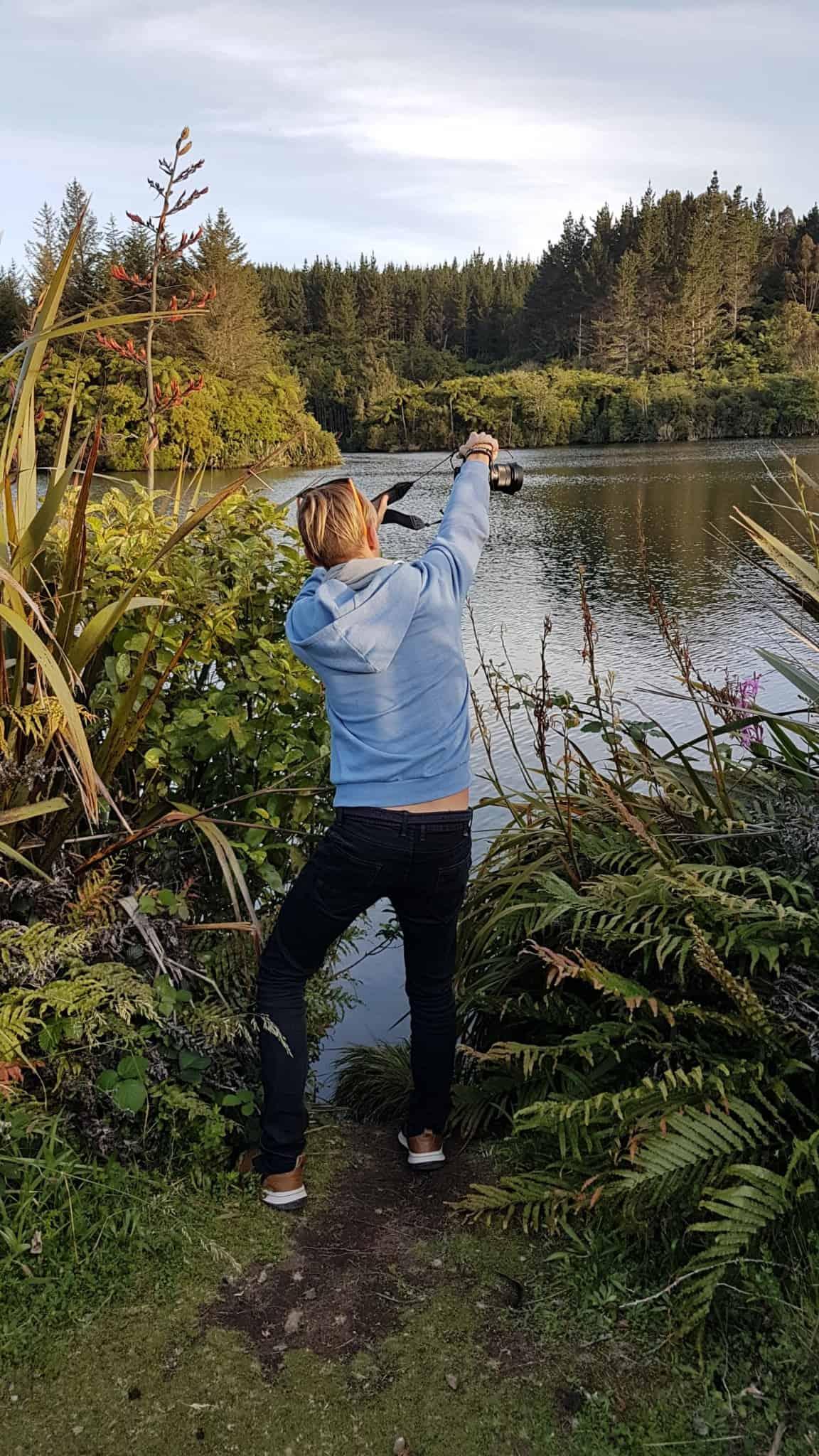 Nouvelle-zelande, le lac Mangamahoe une petite merveille 🤩 16