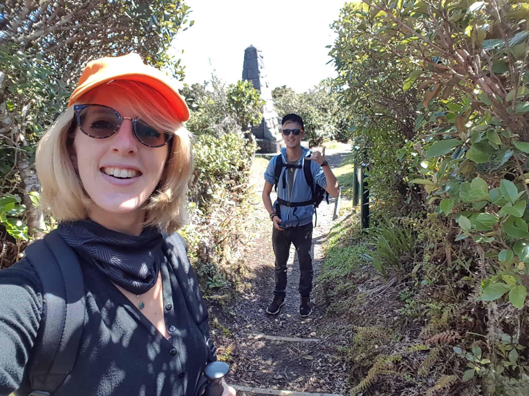 Nouvelle-Zélande, rando Holly Hut Track avec vue sur le Mont Taranaki ❤ 1