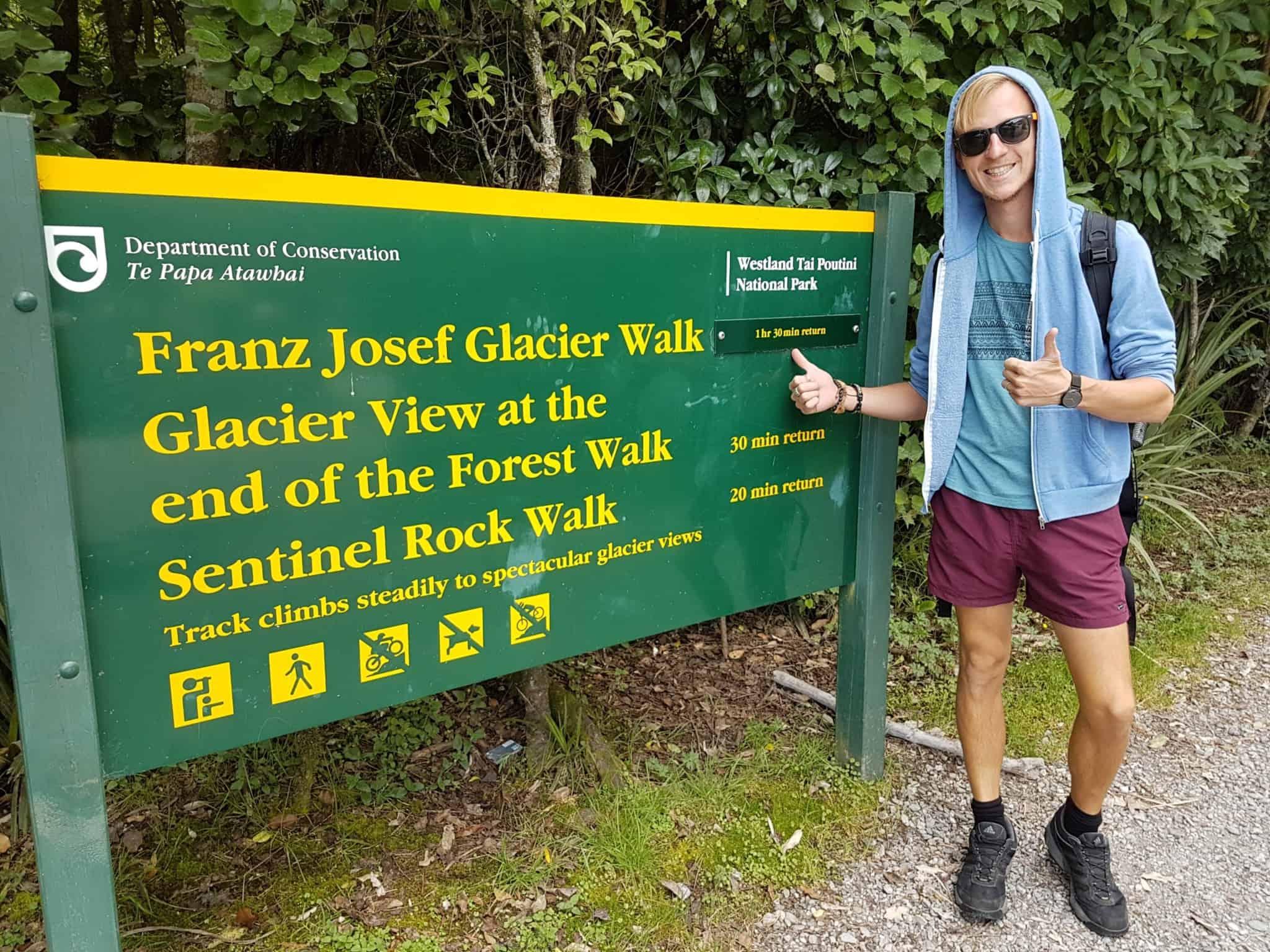 Nouvelle-Zélande, on chausse les baskets pour voir le Glacier Franz Josef 👟 1
