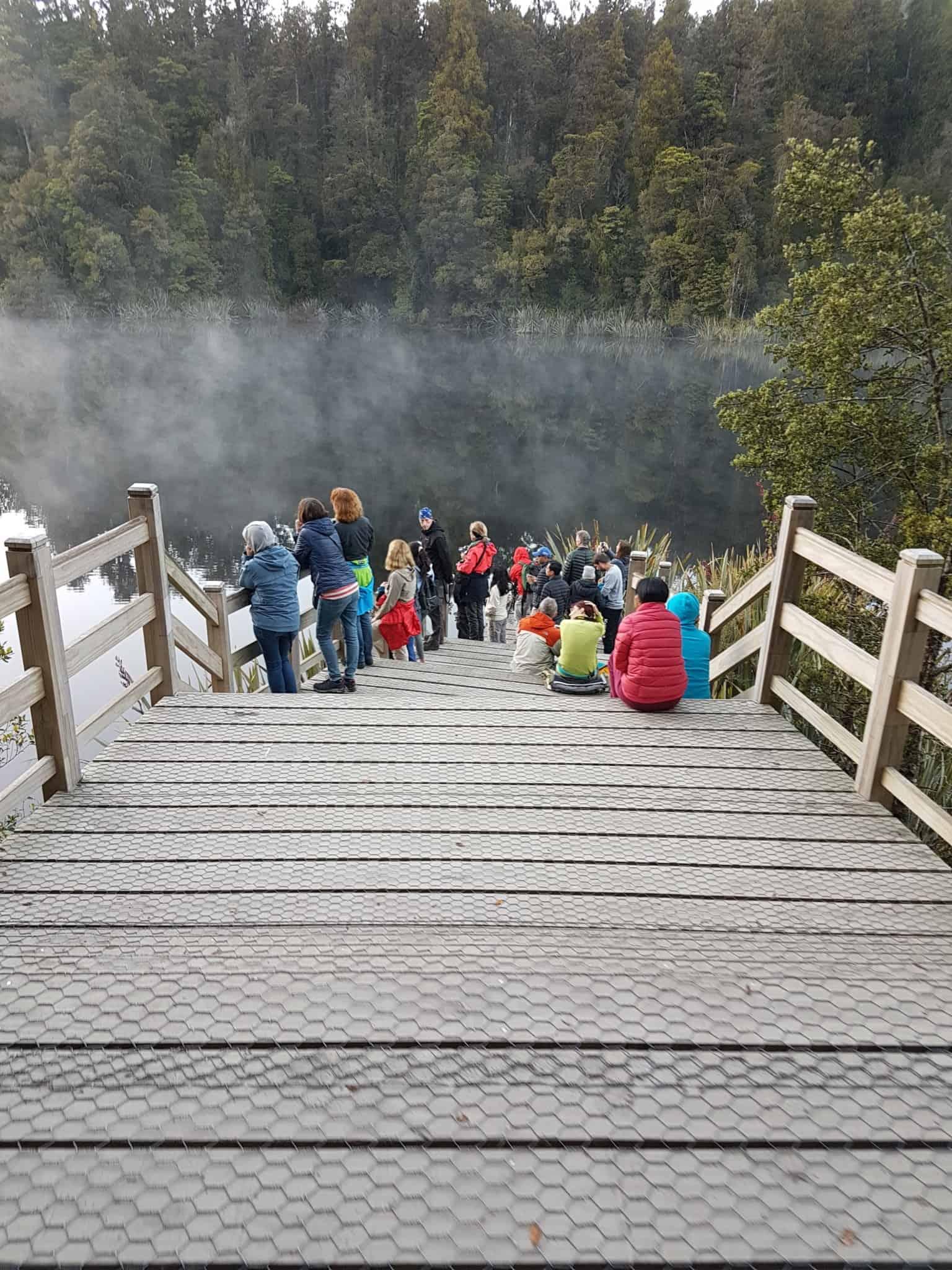 Nouvelle-Zélande, un levé de soleil féerique sur le lac Matheson ☀️ 9