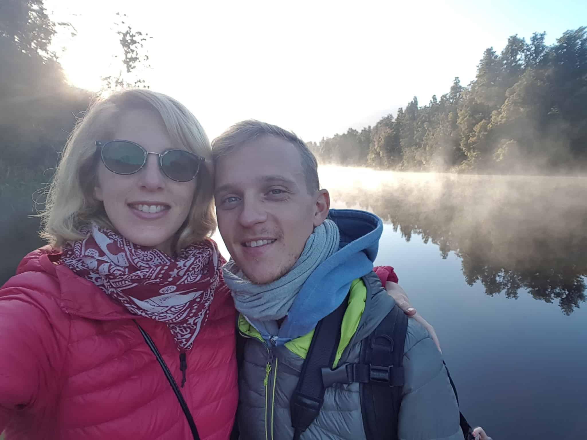 Nouvelle-Zélande, un levé de soleil féerique sur le lac Matheson ☀️ 13