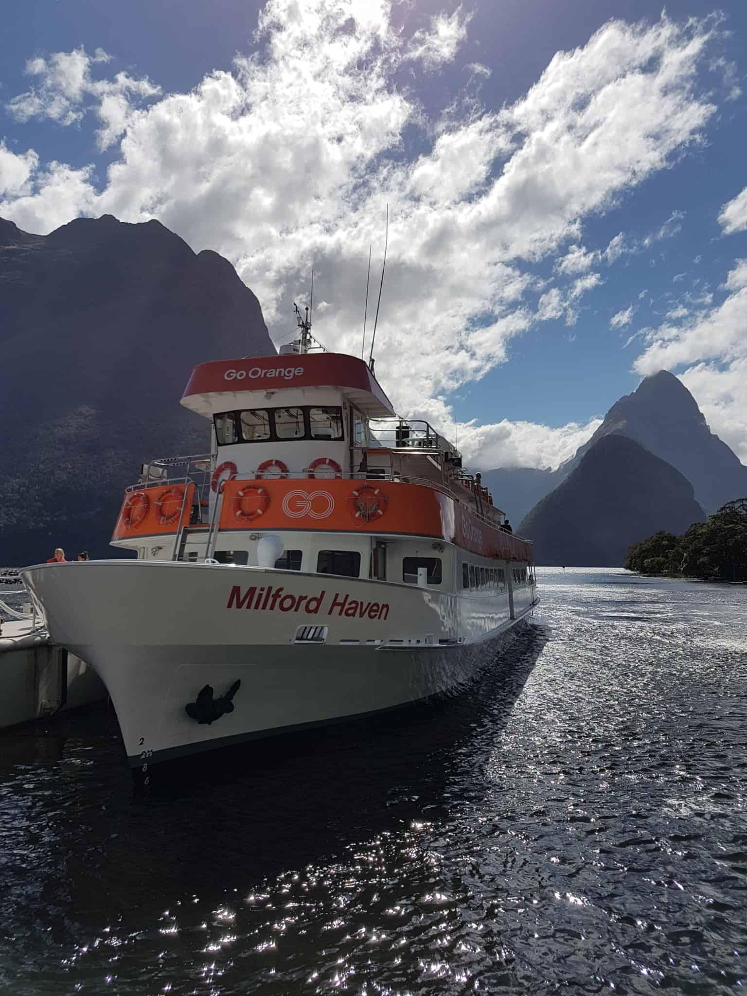 Nouvelle-Zélande, magnifique tour en bateau au coeur du Milford Sound ⛴ 15