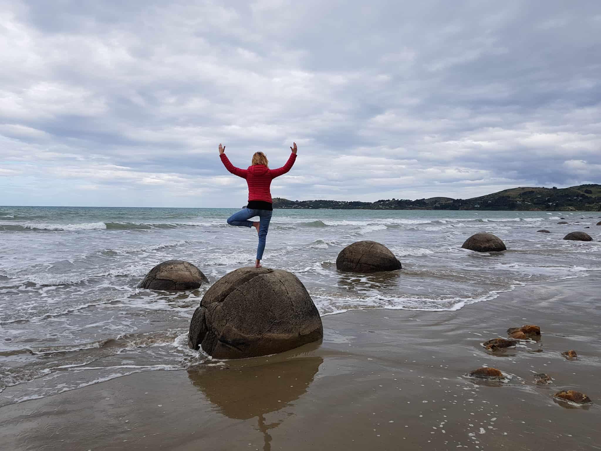 Moeraki Boulders, nouvelle-zélande
