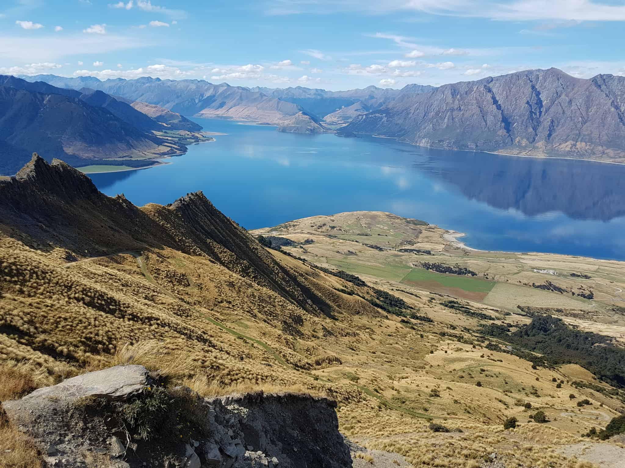 Nouvelle-Zélande, un magnifique lever de soleil depuis Isthmus Peak pour mes 30 ans 🎁 15