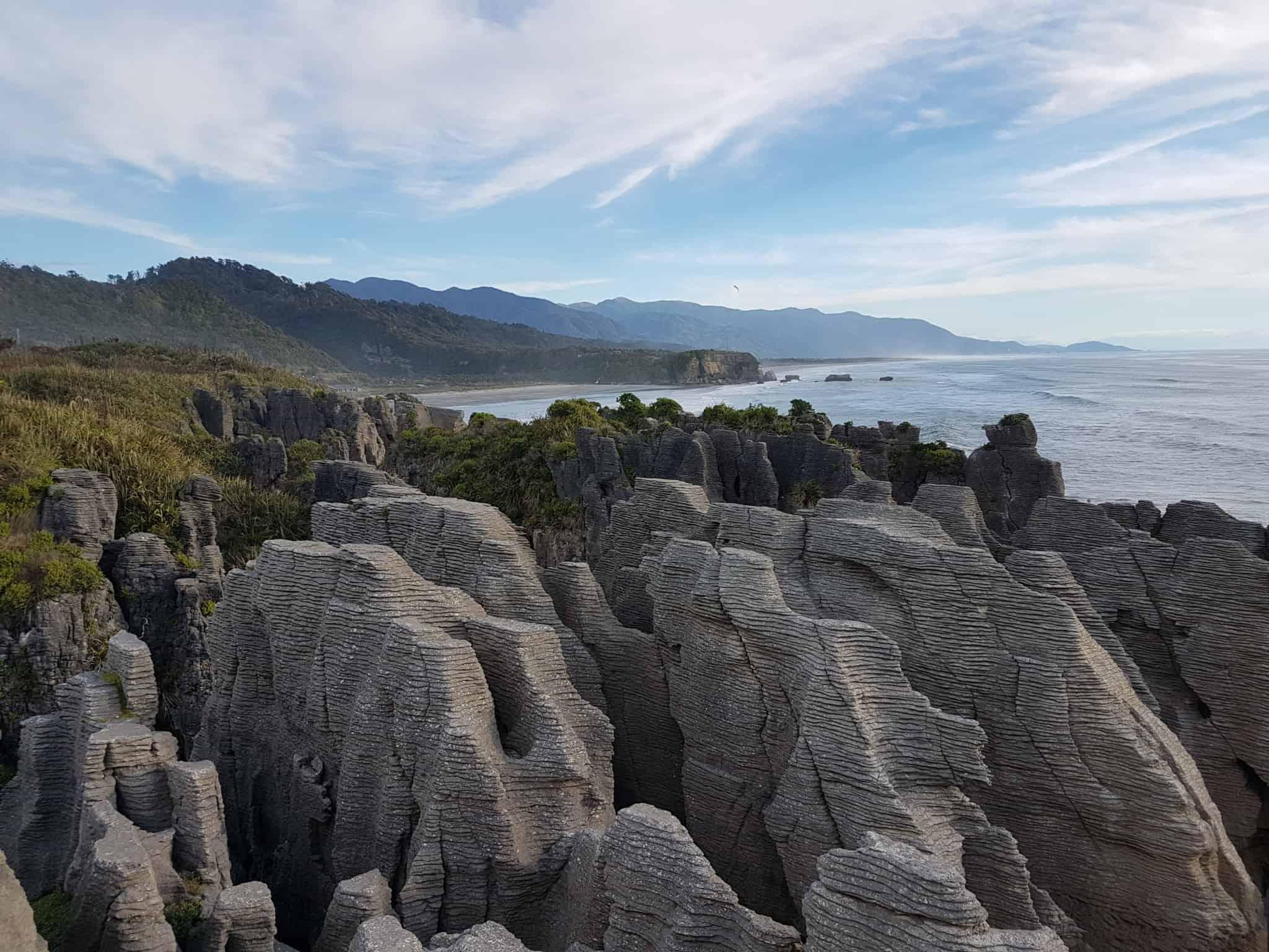 Pancake Rocks Nouvelle-Zélande