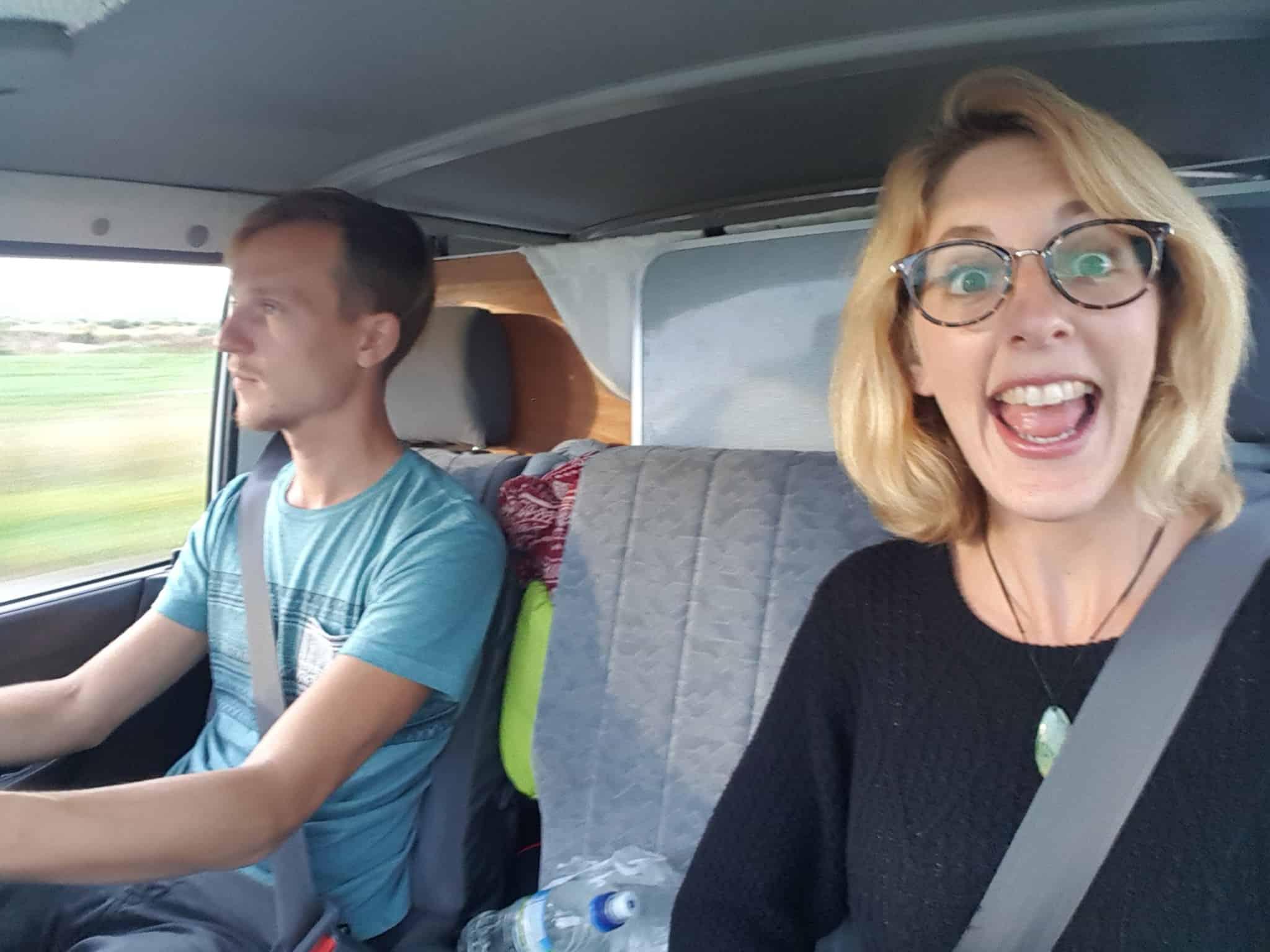 Le bonheur et la liberté de la vie en van en Nouvelle-zélande