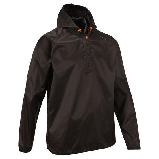 Coupe+pluie+Imperm+able+randonn+e+nature+NH100+Raincut+noir+homme