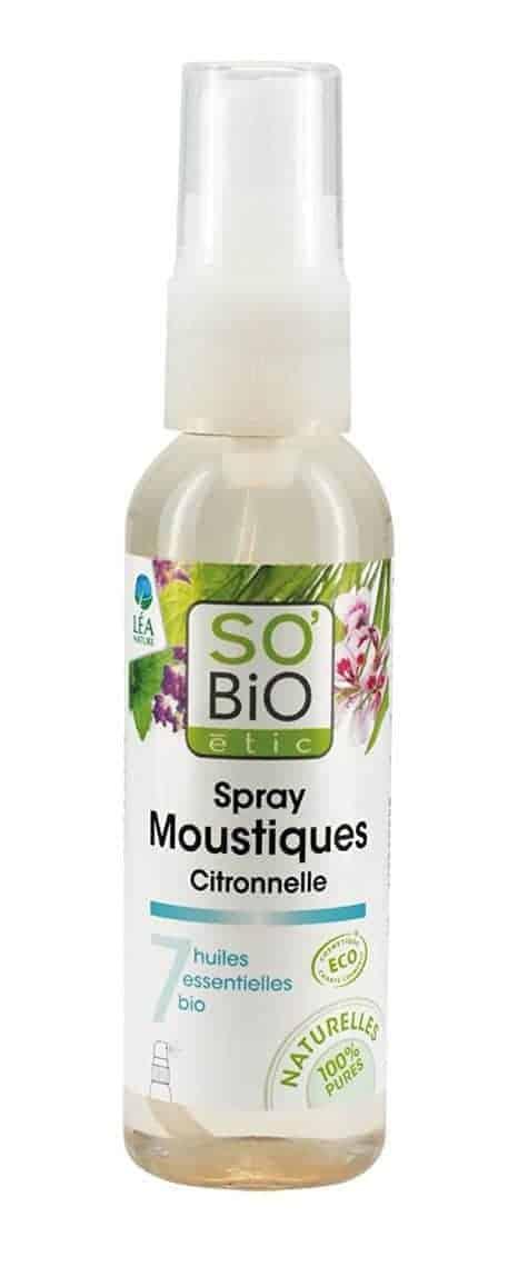 Répulsif naturel contre les moustiques