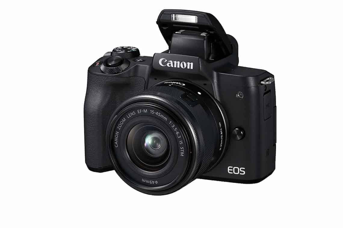Appareil photo hybride Canon EOS M50 hybride à objectifs interchangeables