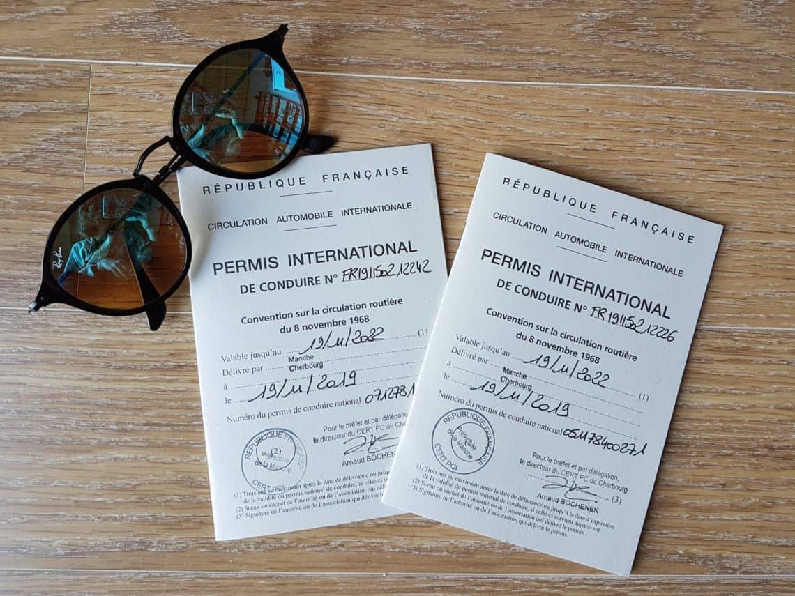 demander son permis international pour un long voyage