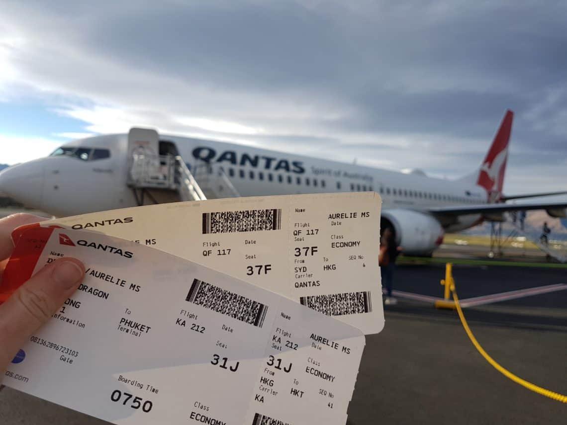 Préparer un long voyage - réserver ses billets d'avion